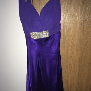 Dresses & Skirts - Purple dress 12-14